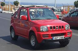 Location un jeep 4x4 en Crète, Jeep a louer en Crete chez Eye Drive location voiture